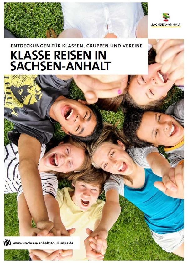 Broschuere Klasse Reisen Sachsen-Anhalt